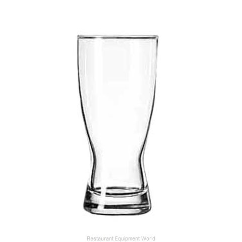 Libbey 179 Pilsner Glass (Magnified)