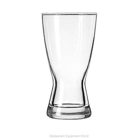 Libbey 181 Pilsner Glass (Magnified)