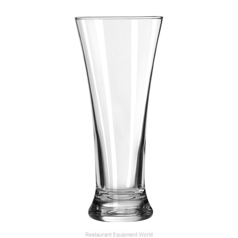 Libbey 19 Pilsner Glass (Magnified)