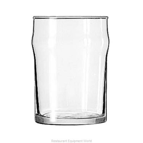 Libbey 1910HT Glass Water (Magnified)