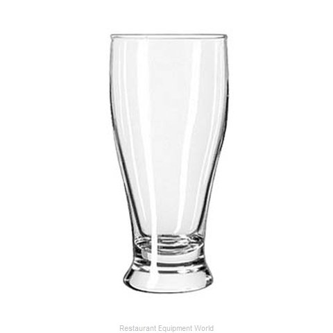 Libbey 194 Pub Glass (Magnified)