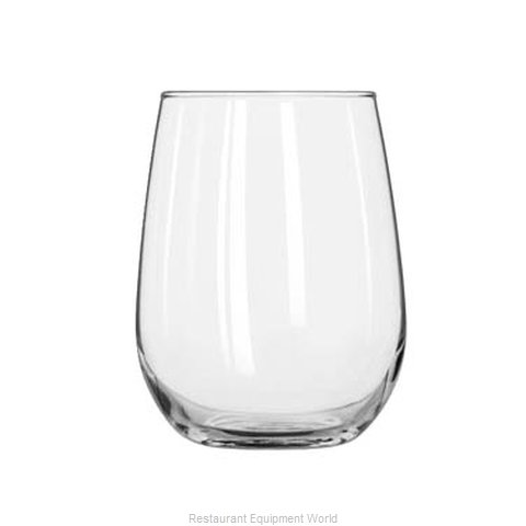 Libbey 221 Glass, Wine (Magnified)