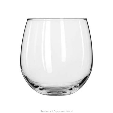 Libbey 222 Glass, Wine (Magnified)