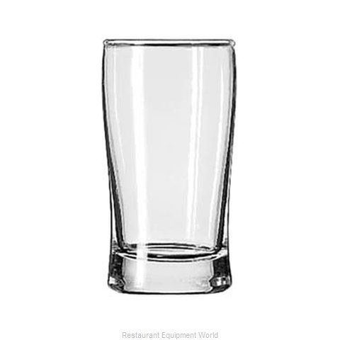 Libbey 223 Glass, Hi Ball (Magnified)