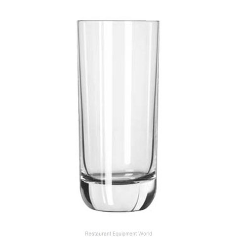 Libbey 2293SR Glass Hi Ball (Magnified)