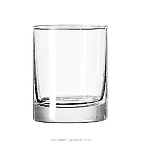 Libbey 2303 Glass, Shot / Whiskey (Magnified)