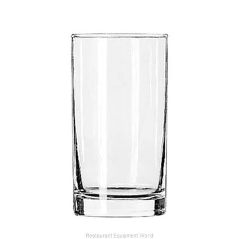 Libbey 2318 Hi Ball Glass (Magnified)