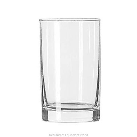 Libbey 2323 Glass Hi Ball (Magnified)
