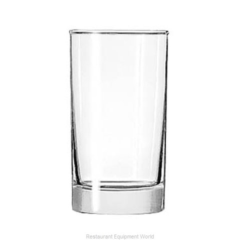 Libbey 2325 Glass, Hi Ball (Magnified)