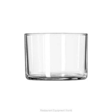 Libbey 280 Serving Bowl, Glass (Magnified)