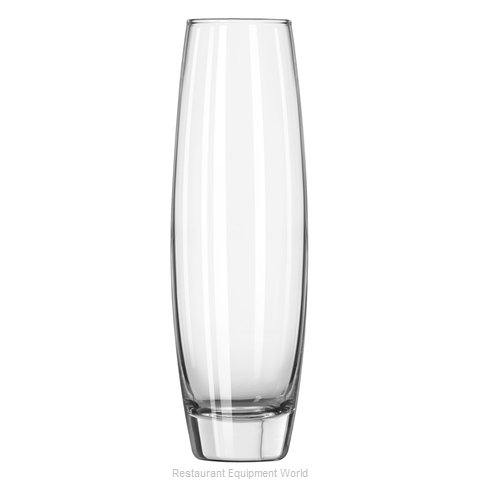 Libbey 2854 Bud Vase Glass (Magnified)