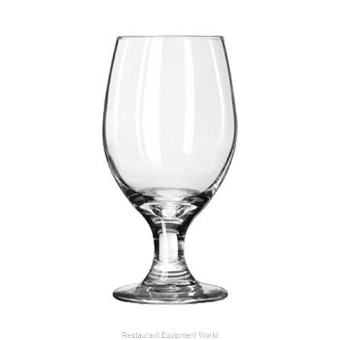 Libbey 3010 Glass, Goblet (Magnified)