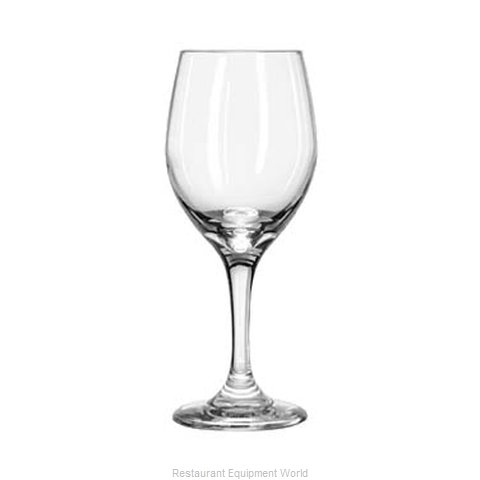 Libbey 3011 Glass, Goblet (Magnified)