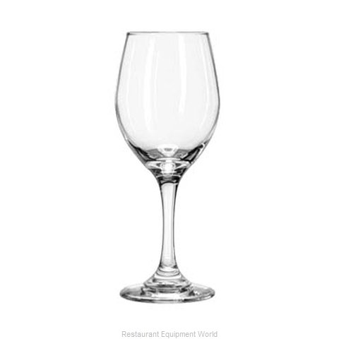 Libbey 3057 Wine Glass (Magnified)