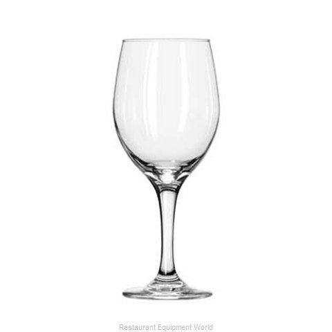 Libbey 3060 Wine Glass (Magnified)