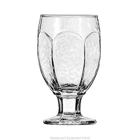 Libbey 3211 Glass, Goblet (Magnified)