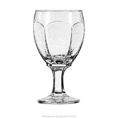 Libbey 3212 Glass, Goblet (Magnified)