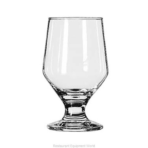 Libbey 3312 Glass, Goblet (Magnified)