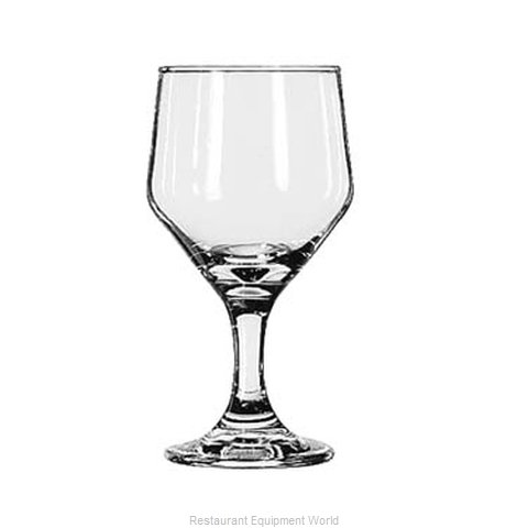 Libbey 3364 Wine Glass (Magnified)