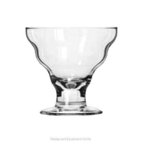 Libbey 3419 Dessert Glass (Magnified)