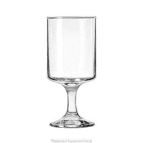 Libbey 3556 Glass, Goblet (Magnified)