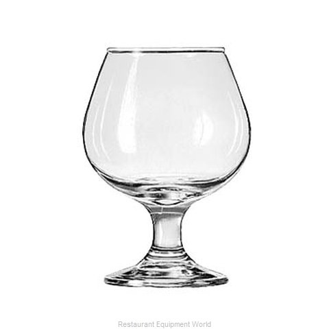 Libbey 3704 Glass, Brandy / Cognac (Magnified)