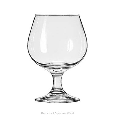 Libbey 3705 Brandy Glass (Magnified)