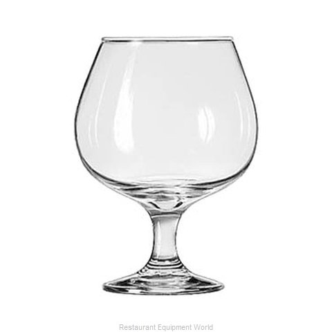 Libbey 3708 Brandy Glass (Magnified)
