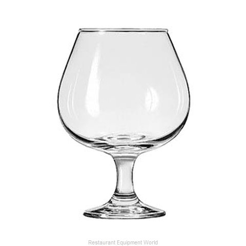 Libbey 3709 Glass Brandy (Magnified)
