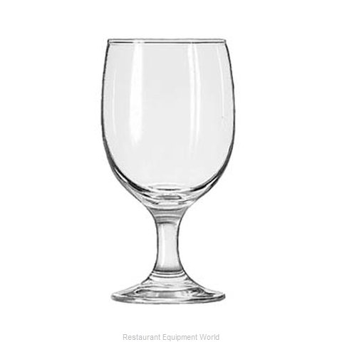 Libbey 3711 Glass, Goblet (Magnified)