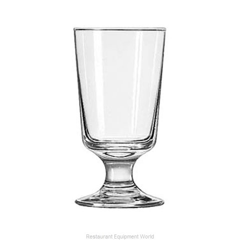 Libbey 3736 Glass, Hi Ball (Magnified)