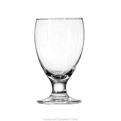 Libbey 3752HT Glass, Goblet (Magnified)
