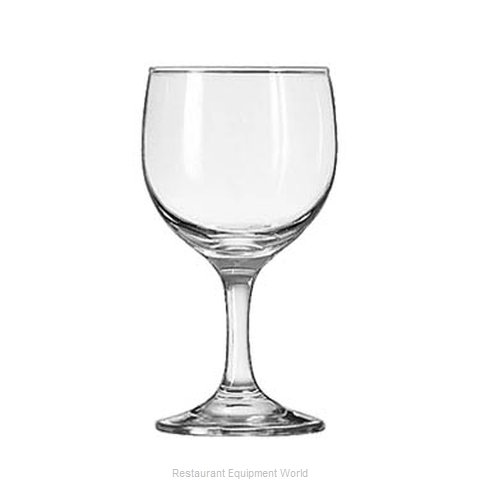 Libbey 3764 Glass, Wine (Magnified)