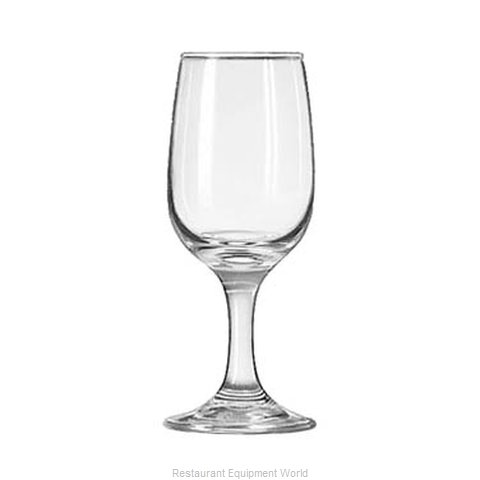 Libbey 3766 Wine Glass (Magnified)