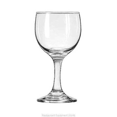 Libbey 3769 Glass, Wine (Magnified)