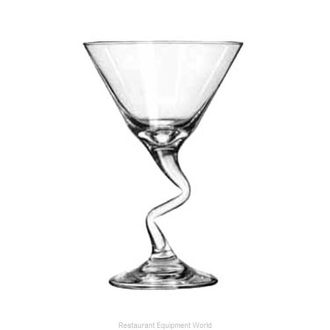 Libbey 37799 Martini Glass (Magnified)