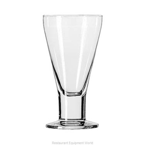 Libbey 3821 Goblet Glass (Magnified)