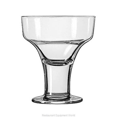 Libbey 3827 Margarita Glass (Magnified)