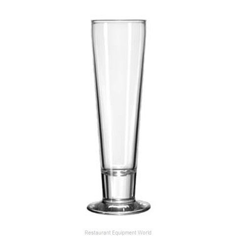 Libbey 3828 Pilsner Glass (Magnified)