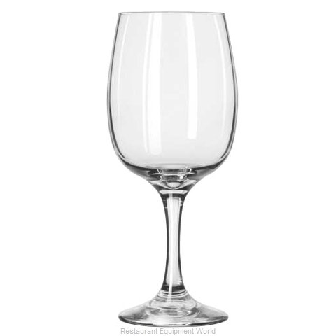 Libbey 3834 Glass Wine (Magnified)