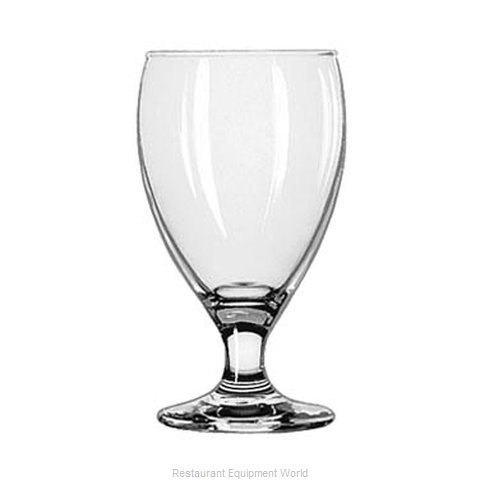 Libbey 3914 Glass, Goblet (Magnified)