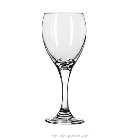 Libbey 3965 White Wine Glass (Magnified)