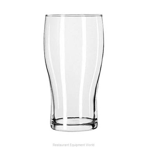 Libbey 4803 Pub Glass (Magnified)