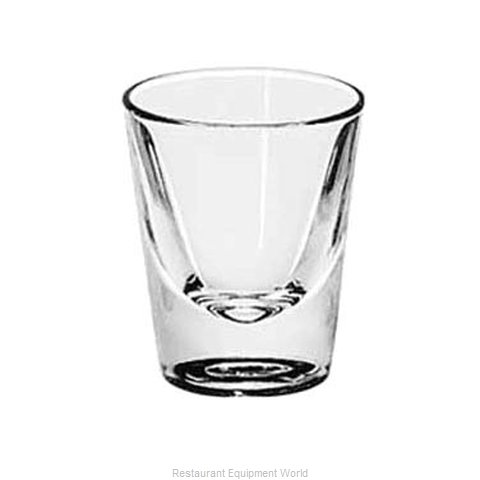 Libbey 5120 Glass, Shot / Whiskey (Magnified)