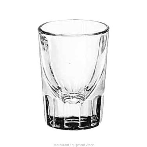 Libbey 5127 Glass, Shot / Whiskey (Magnified)