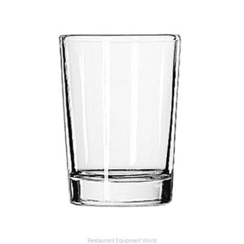 Libbey 5134 Water Glass (Magnified)
