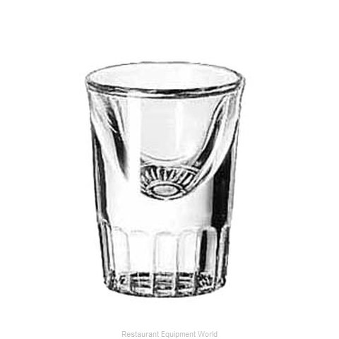 Libbey 5138 Whiskey Shot Glass (Magnified)