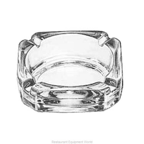 Libbey 5143 Ash Tray, Glass (Magnified)