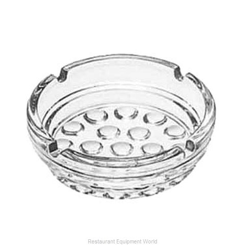 Libbey 5154 Ash Tray Glass (Magnified)