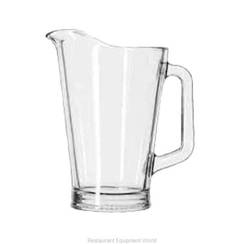 Libbey 5260 Pitcher Glass (Magnified)
